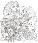 Sketches for July 28 2013 by Anomalies13