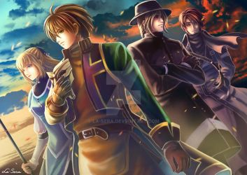 Suikoden III: The Destroyers by la-sera