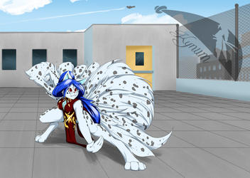 Kali rooftop kata - Commission for ZRO by Kynum