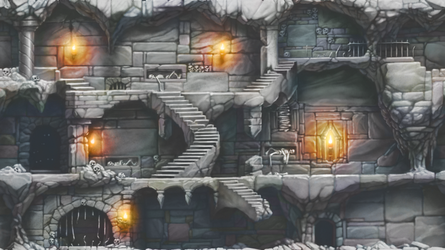 Catacombs Background by shauncharles