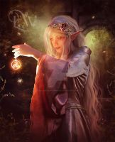 Elven Magic by EnchantedWhispersArt