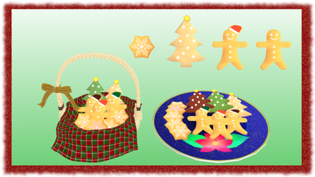 Christmas Cookies MMD DL by mmdspot