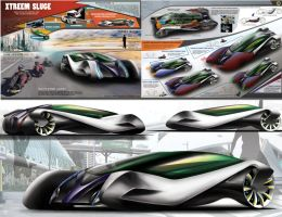 Lotus Xtreem Sluge Sports Vehicle Concept by toyonda