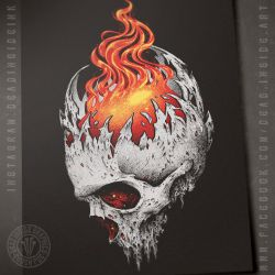Mind on fire by DeadInsideGraphics