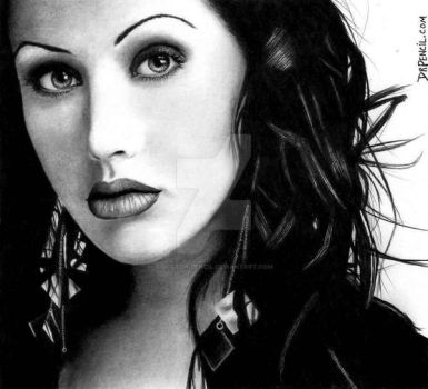 Christina Aguilera by Doctor-Pencil