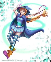 Luna the wicked witch by KanoeShirota