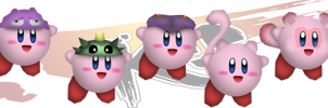 ssbko-kirby hats 1