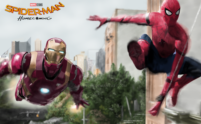 Spider-man Homecoming by billycsk