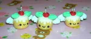 Holiday Angel Puddings by kneazlegurl125