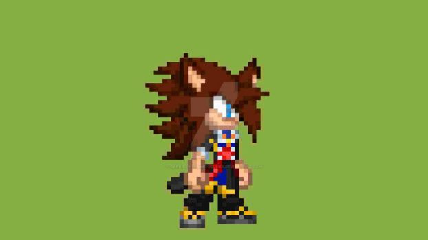 Totally not Dressed up as Sora from KH2 c: by DarkrowTheHedgelynx