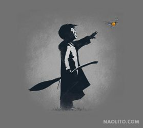 Snitch Catcher by Naolito