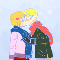 Wintry Kiss by ShadowGinger