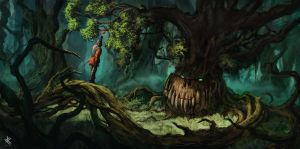 The forbidden fruit by Chris-Karbach