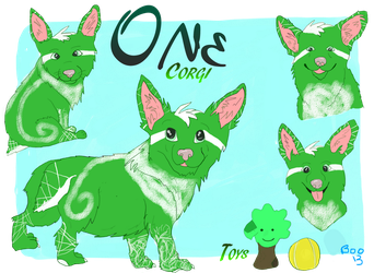 One the Corgi!- Reference revamp by kandec
