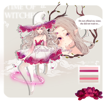 AUCTION [CLOSED|#2|Time of witches| OFF -species by MrFrak