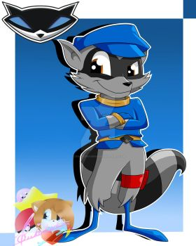 Fanart Sly Cooper by CreatiDrawing