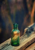 reflected in a bottle by Anti-Pati-ya