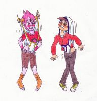 Request - SVTFOE Tom + Marco wedgies by Black-Chocobo99