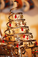 Christmas Tree Candle Holder by Gazzycakes