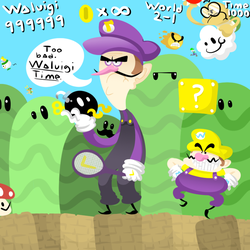 Waluigi Time by Toaster-of-Truth