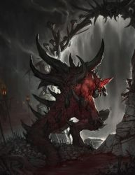 Diablo2 fanart_Enter Hell by alswns3421