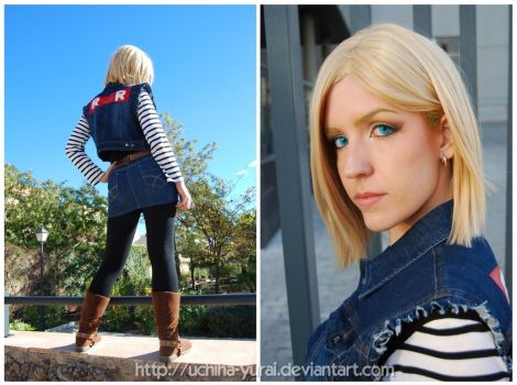 Android 18 by Yurai-cosplay