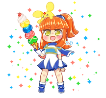 Arle and Carbuncle by ScarletDestiney