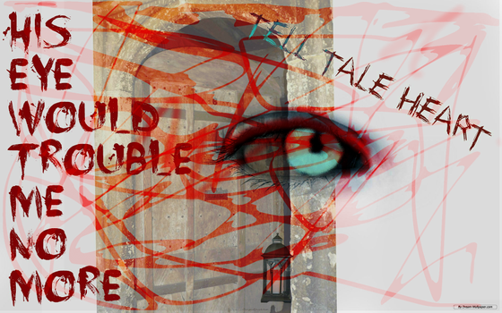 Tell tale heart, english project by Quartermile1