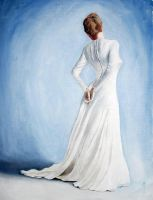 white dress by Bagdadi