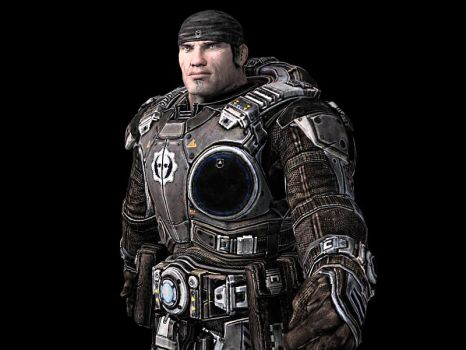 Marcus from Gears of War 2 by advancedspartan
