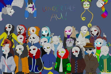 [Undertale Anniversary] UNDERTALE AU WILL LIVE ON by Azureanothertale