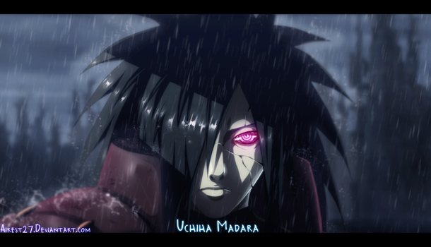 Uchiha Madara - Naruto |Color| by Airest27