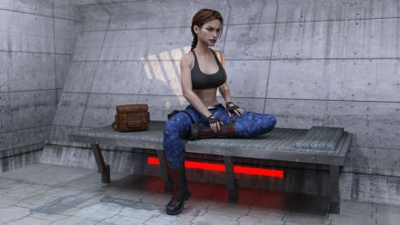 High Security Compound 2 by tombraider4ever