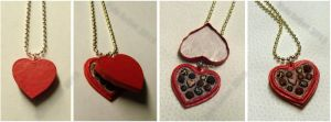 Mini Sweetheart Candy Box Necklace by Kyle-Lefort