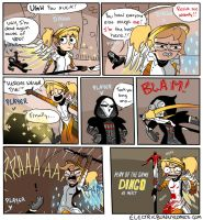 No Mercy by electricbunnycomics