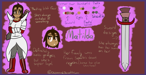 Matilda Reference by Oceanrush