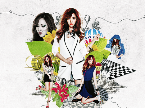[Wallpaper] Jessica - Girl's Generation (SNSD) by pipchannie