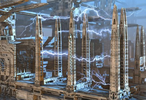 Tesla Towers by HalTenny