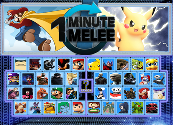 One Minute Melee Roster by BonBooker