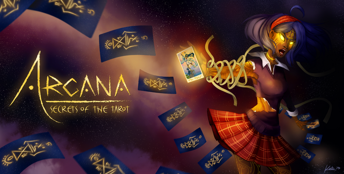 Arcana: Secrets of the Tarot Splash by Vivifx