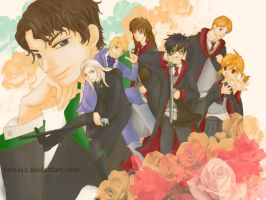 Ouran High and the Chamber oS. by tarna12