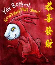 Year Of The Bunneh by avid