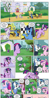 Comic - Twilight's First Day #5 by muffinshire