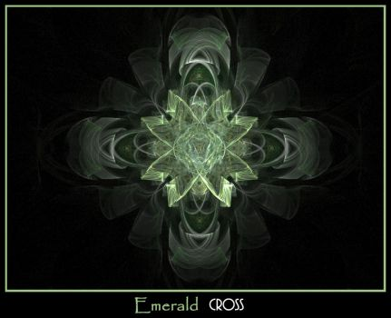 Emerald Cross by GMintyfresh