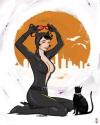 Catwoman by cryssy