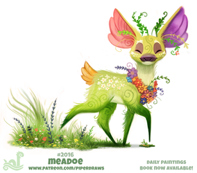 Daily Paint 2016# Meadoe by Cryptid-Creations