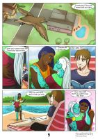 We are family 1) The beginning: page 5 by FreakyVicky