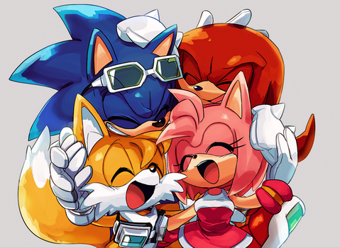 Sonic Riders Together Forever by DeverexDrawer