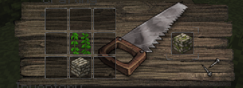 How to make Mossy Cobble by Shorrax