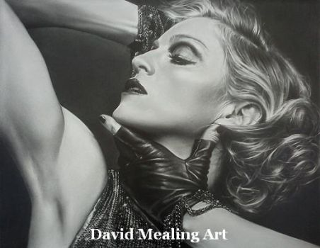 Madonna by Drawing-Dude-Dave